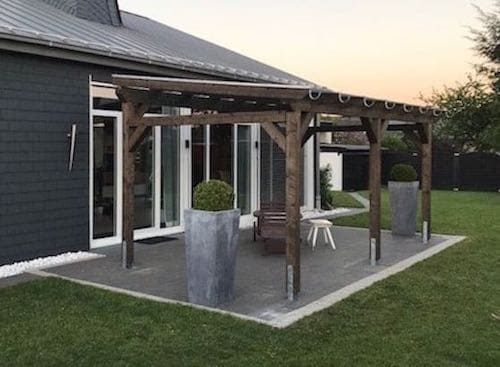 Bekannt Terrassenüberdachung aus Holz – eine gute Wahl YU97